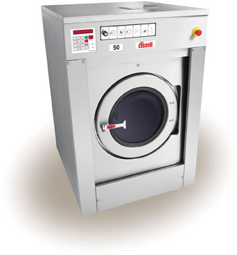Cissell 55 lb softmount washer-extractor