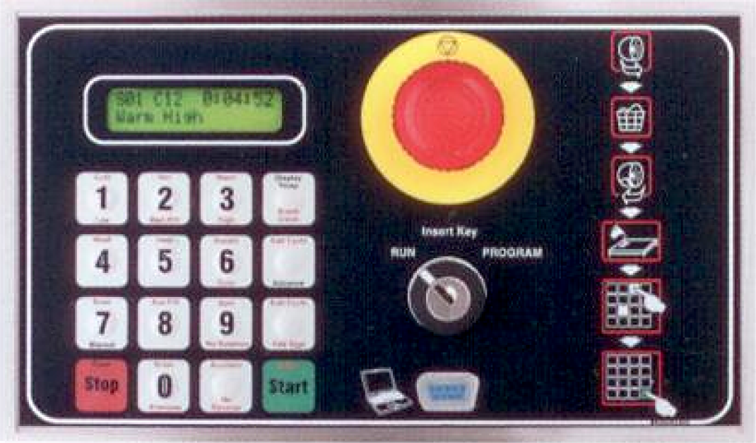 "Cissell Washer-Extractor ""P"" Controller"